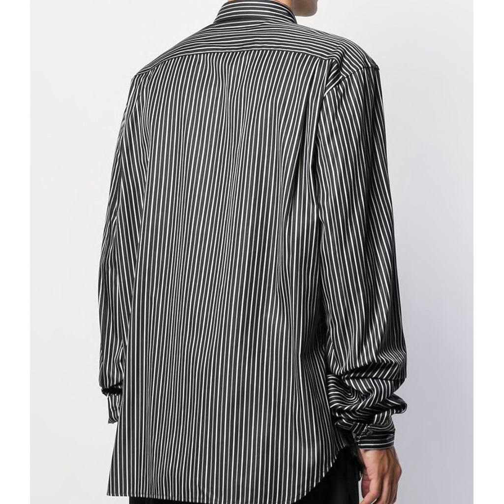 COMME des GARCONS Homme Plus Metalic Panel Striped Shirt PD-B007-W19