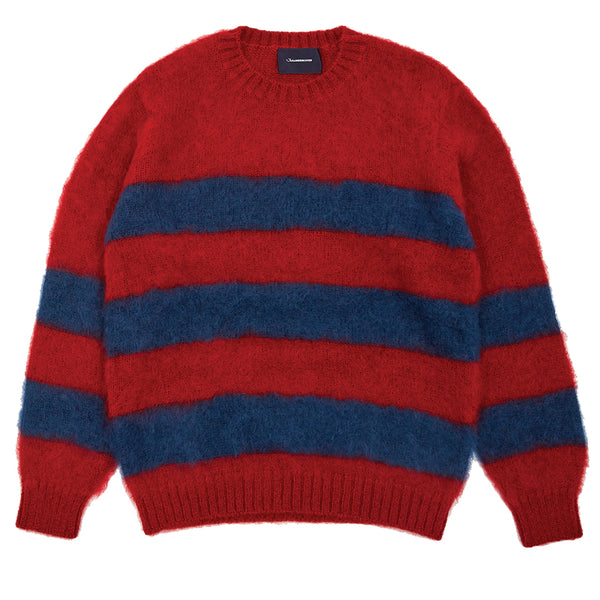 Jun Takahashi JohnUNDERCOVER Wool Jumper Red Border