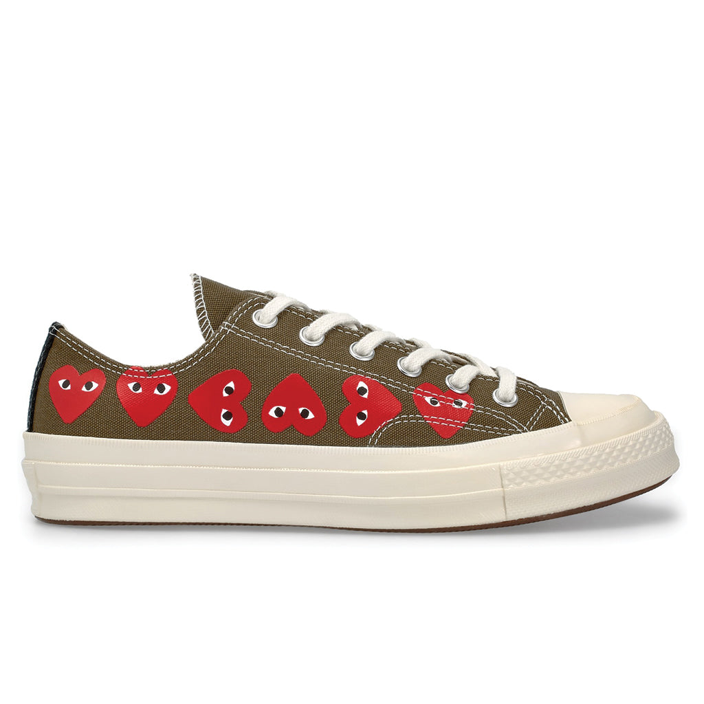 6b397af751db COMME des GARCONS PLAY x Converse Multi Heart Chuck Taylor All Star ...
