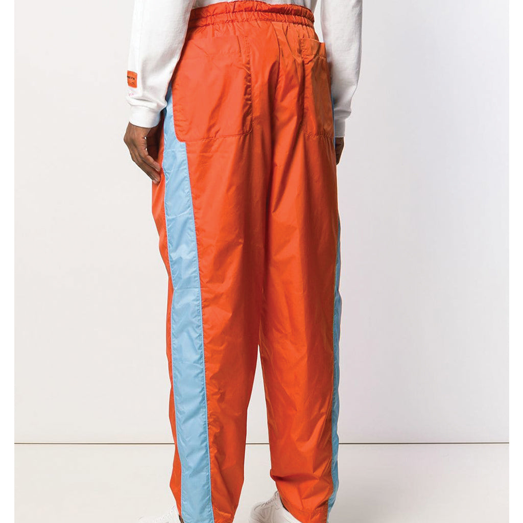 COMME des GARCONS SHIRT Nylon Pants Orange / Sky Blue