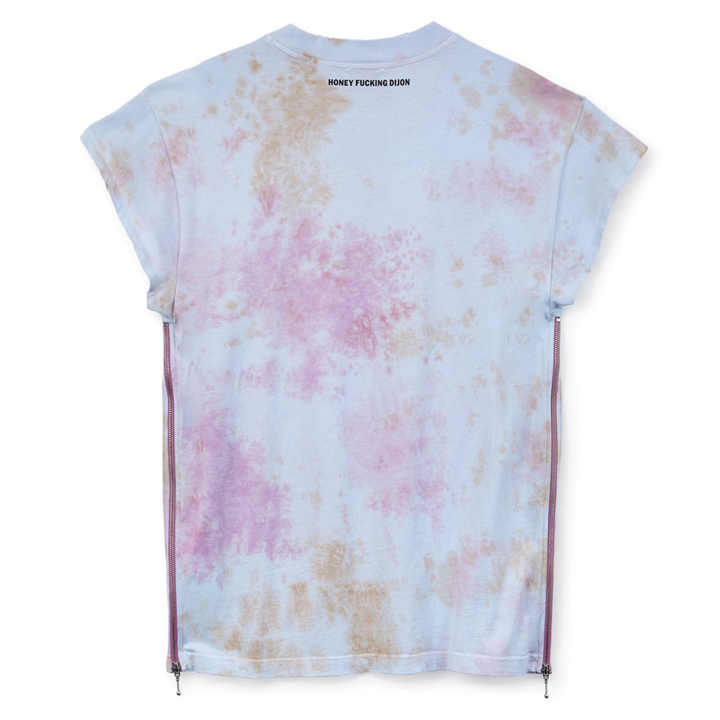 Honey Fucking Dijon Paradise Garage T-Shirt Pink Tie Die HFD03T002