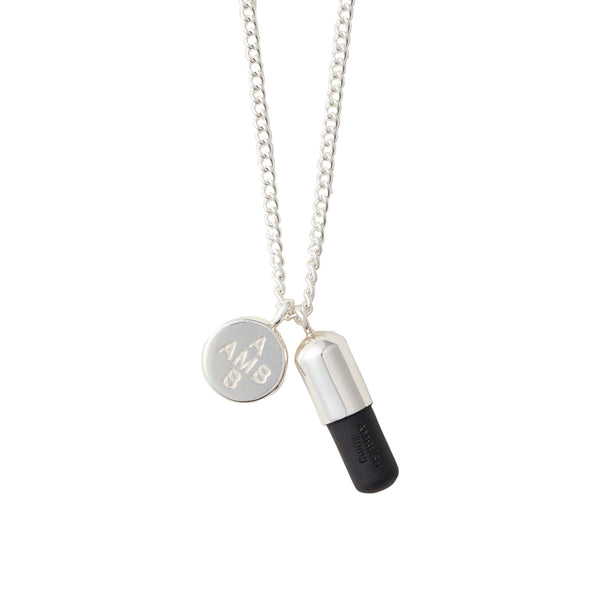 AMBUSH Jewellery Pill Charm Necklace 2