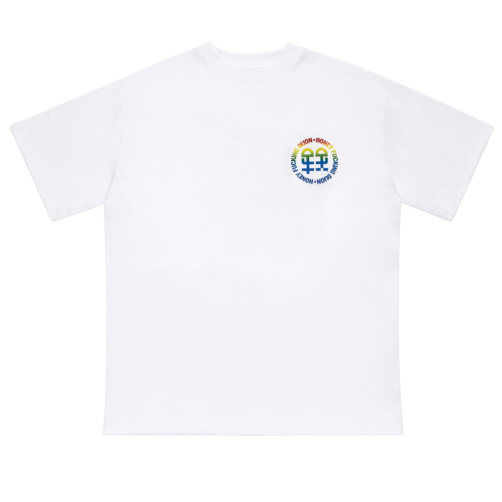 Honey Fucking Dijon Pocket Logo T-Shirt White