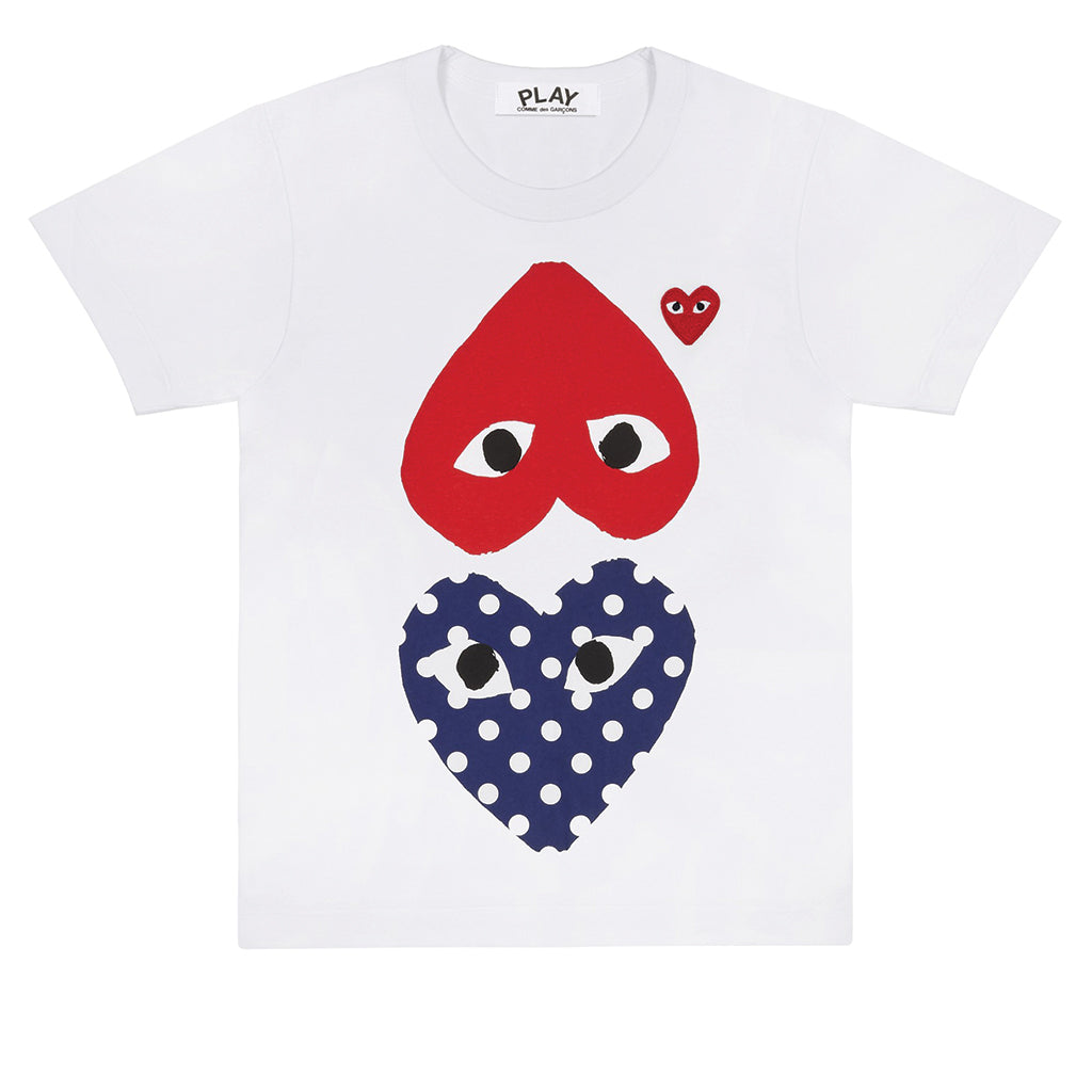 Polka Dot With Upside Down Heart T-Shirt