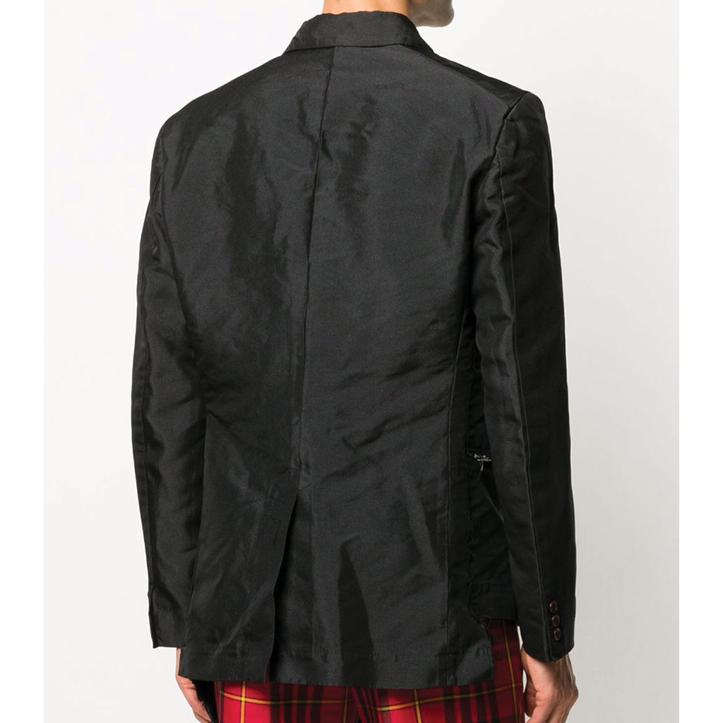 Polyester Double Twill Garment Treated Jacket Black