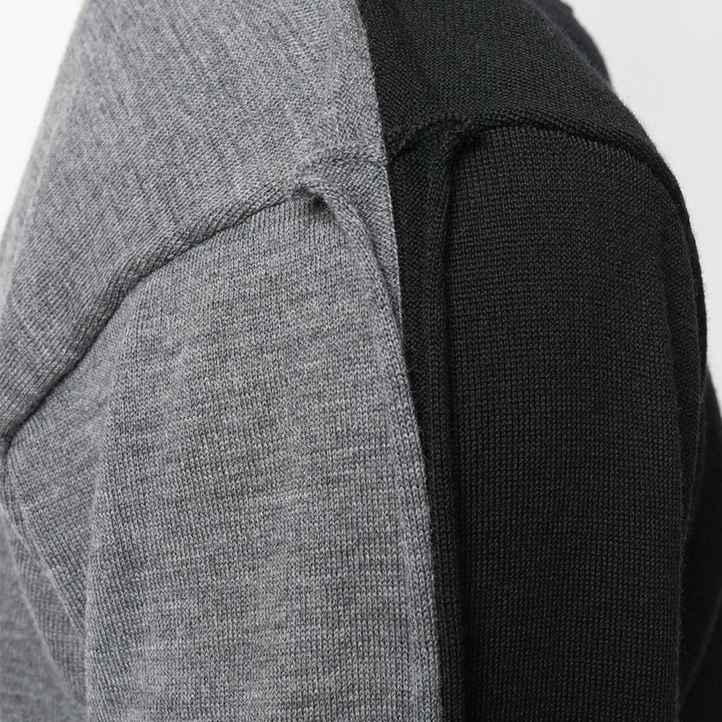 COMME des GARCONS SHIRT Pullover Knitwear Black / Grey