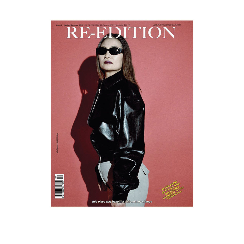 Re-Edition Issue 7 Spring / Summer 2017