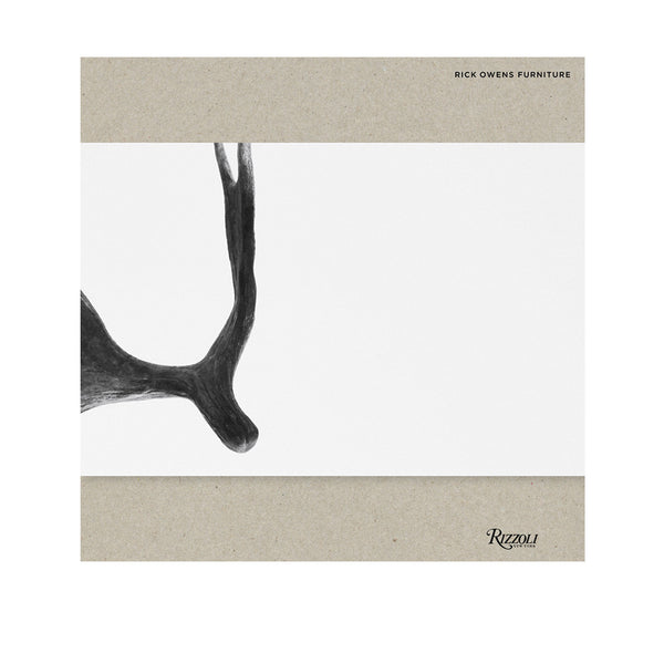 Rick Owens: Furniture Book by Rizzoli