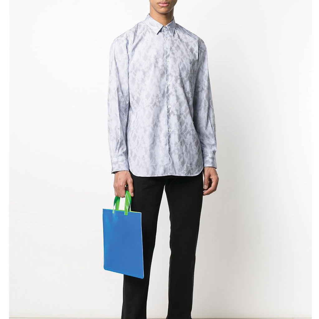 COMME des GARCONS SHIRT Smokey Flower Print Shirt S28072