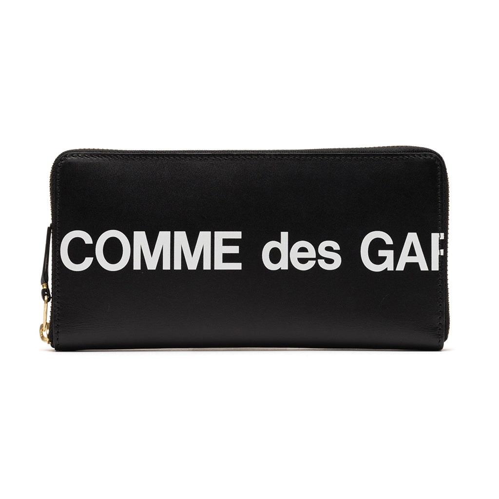 COMME des GARCONS WALLETS Huge Logo Black SA0110HL