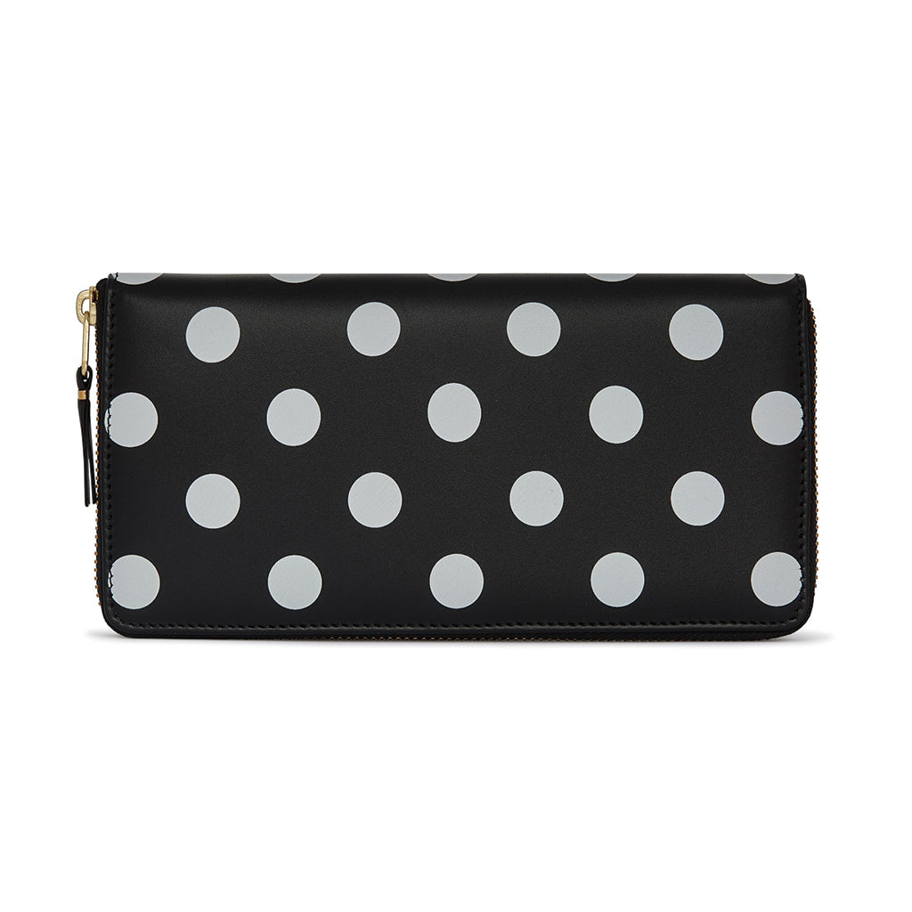 COMME des GARCONS WALLETS Dots Printed Black SA0110PD