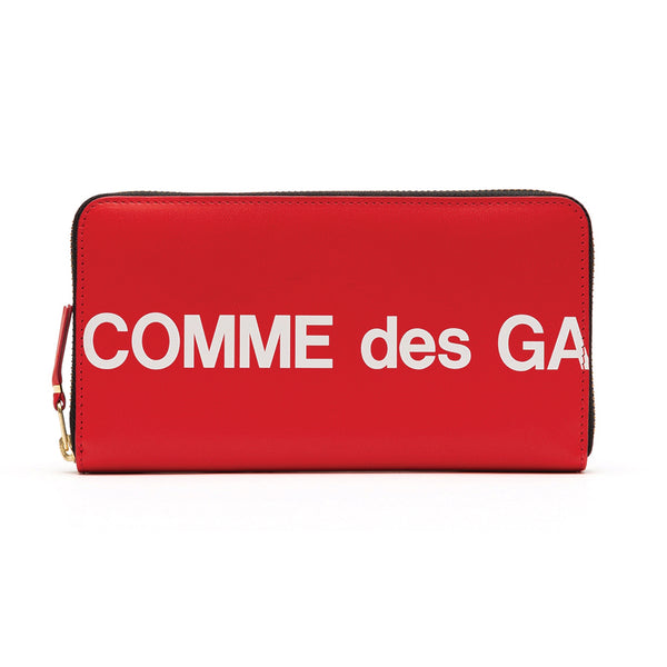 CDG Huge Logo Wallet SA0111HL Red