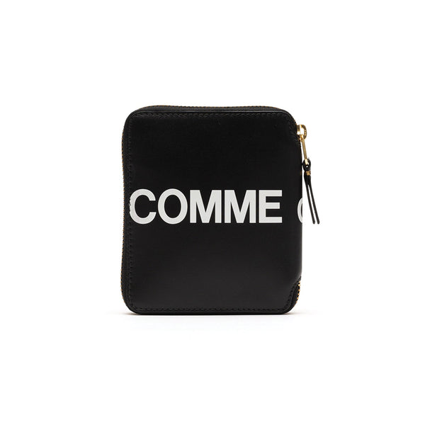 COMME des GARCONS WALLETS Huge Logo BLACK SA2100HL
