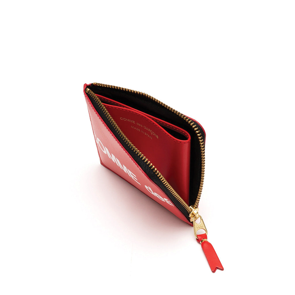 COMME des GARCONS WALLETS Huge Logo RED SA3100HL