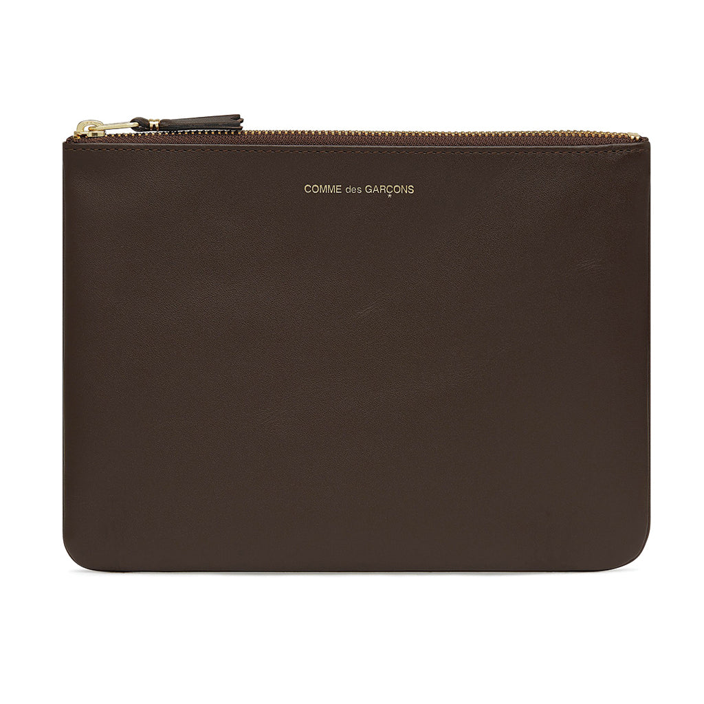 COMME des GARCONS WALLETS Classic Leather Line Brown SA5100