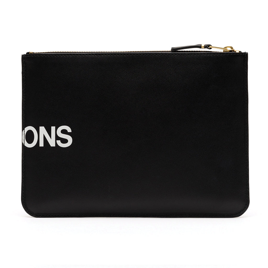 COMME des GARCONS WALLETS CdG Huge Logo Wallet SA5100HL Black