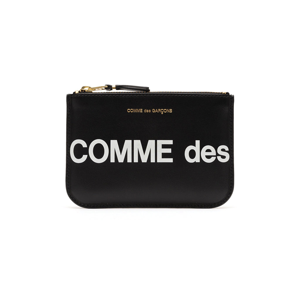 COMME des GARCONS WALLETS CdG Huge Logo Wallet SA8100HL Black