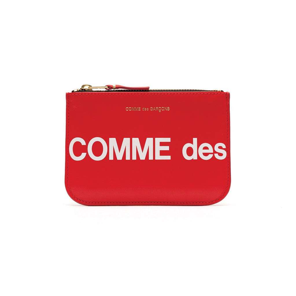 COMME des GARCONS WALLETS CdG Huge Logo Wallet SA8100HL Red