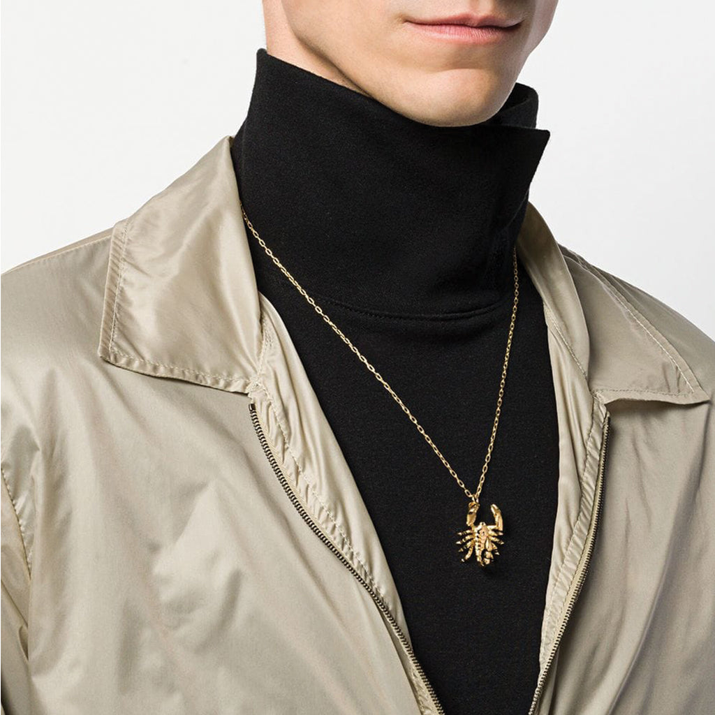 Ambush Jewellery Scorpion Charm Necklace Gold
