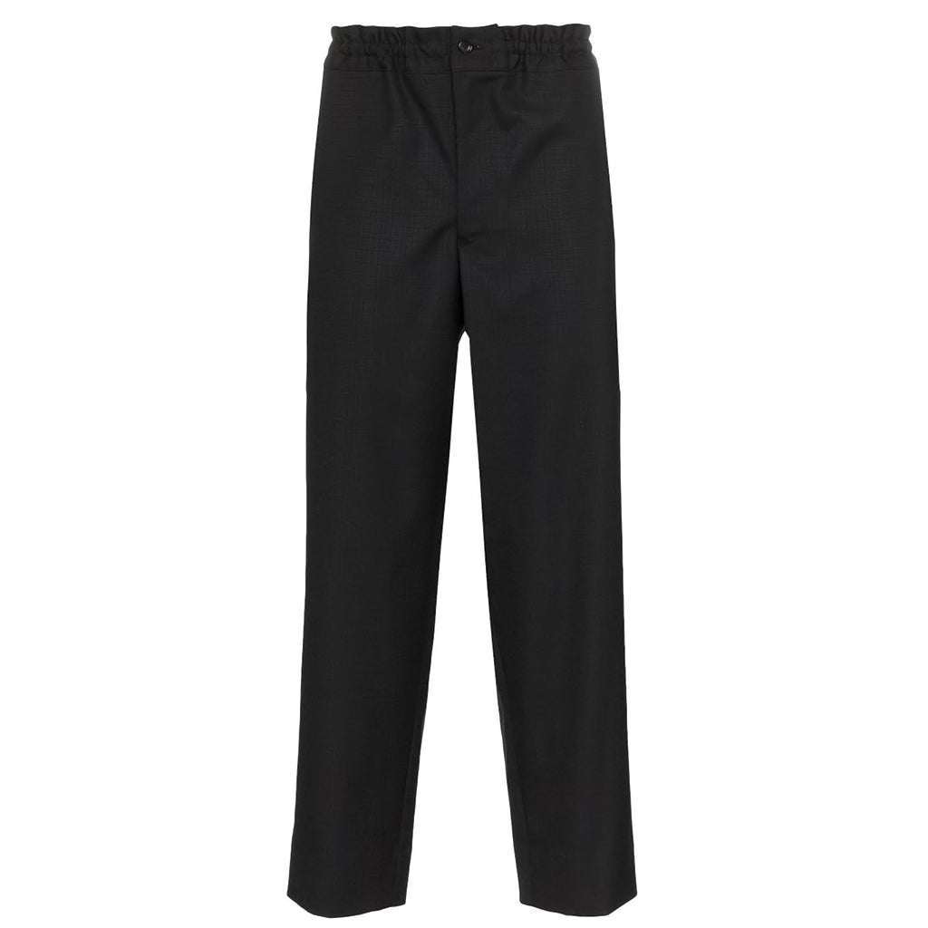 COMME des GARCONS Homme Plus Wool Shadow Check Pants Black PD-P031-051