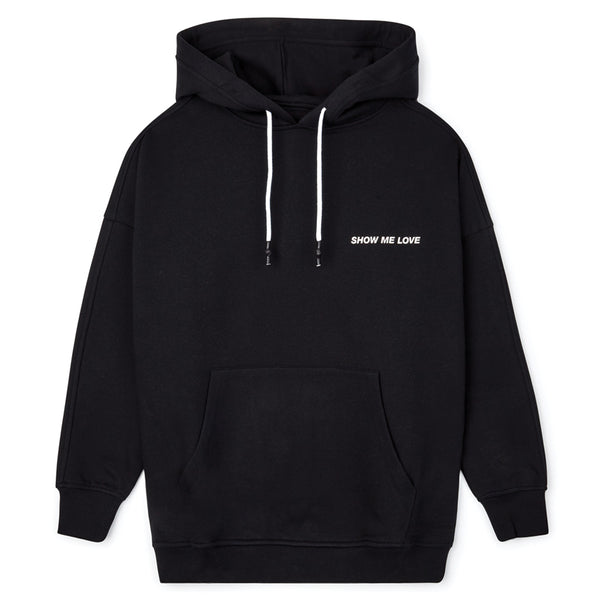 Honey Fucking Dijon Show Me Love Hooded Sweatshirt Black