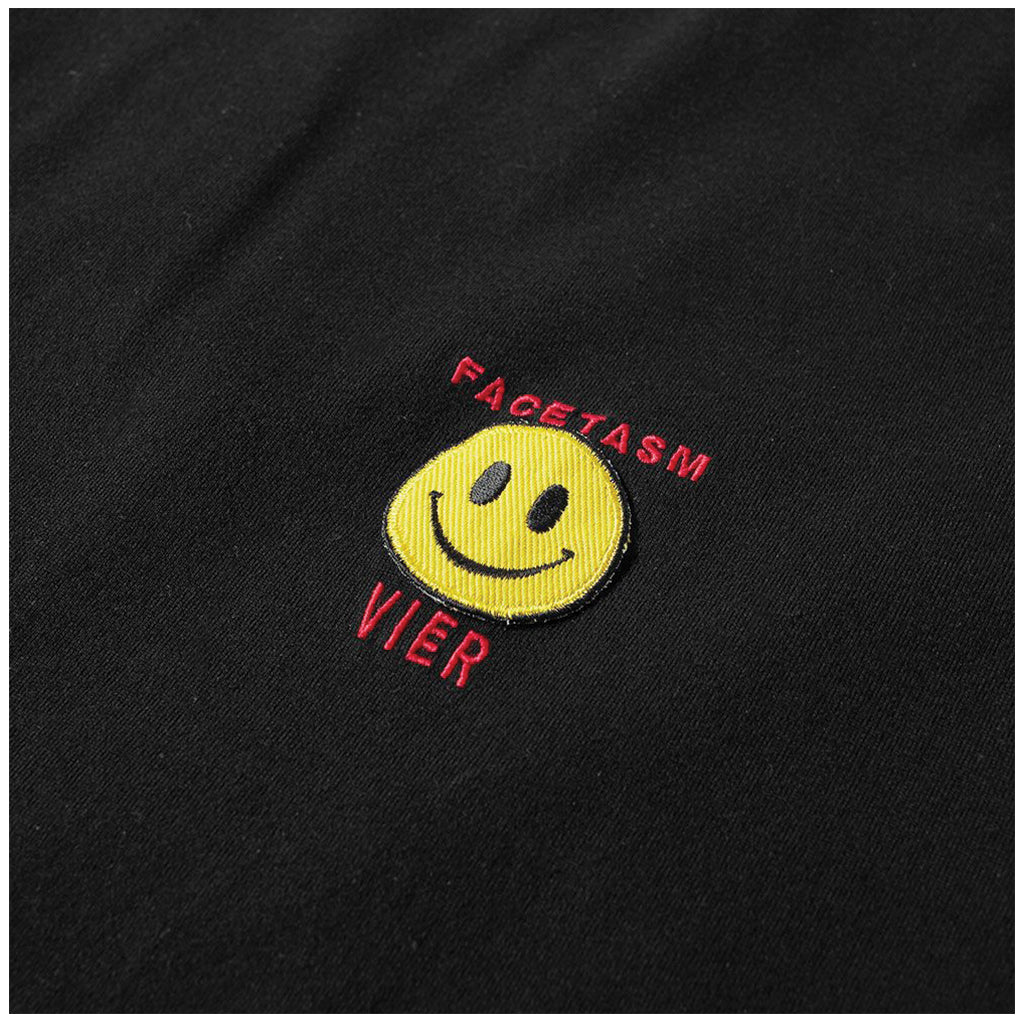 VIER Antwerp x Facetasm Smile T-Shirt Black