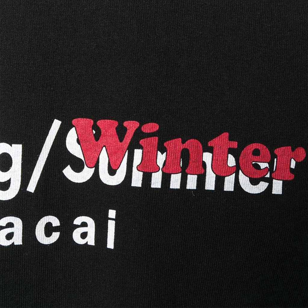 Spring / Winter Logo T-Shirt Black