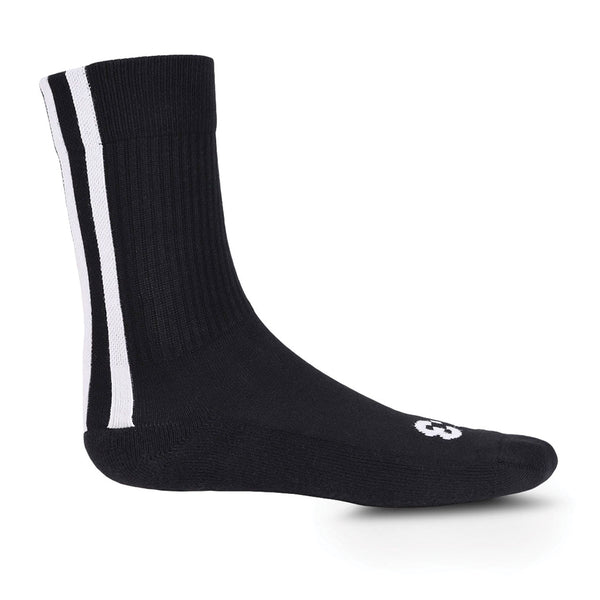 Stripe Socks Black