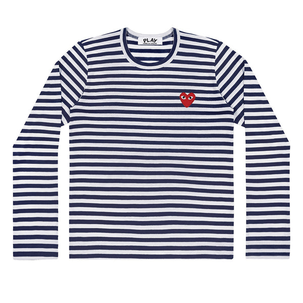 Striped Longsleeve Navy / White