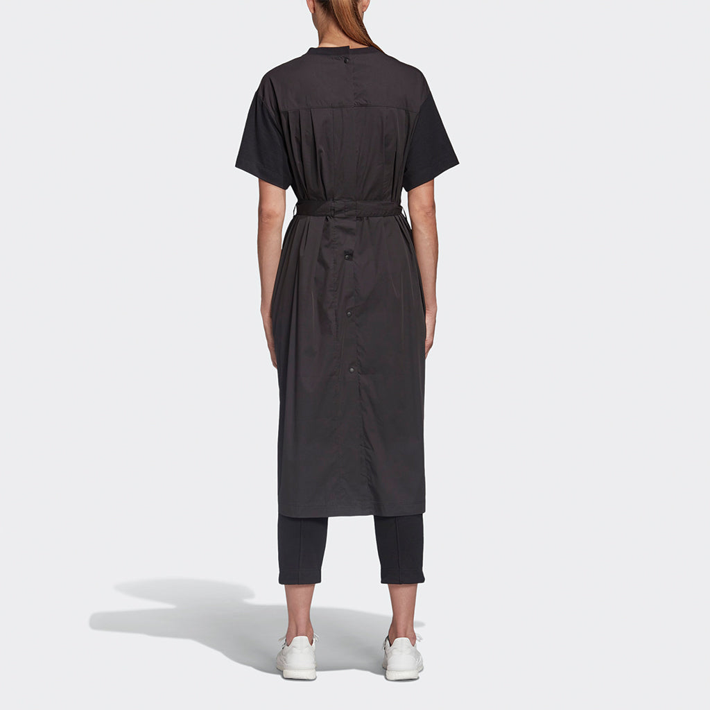 adidas Y-3 Yohji Yamamoto Tailored T-Shirt Dress for Women FN3464