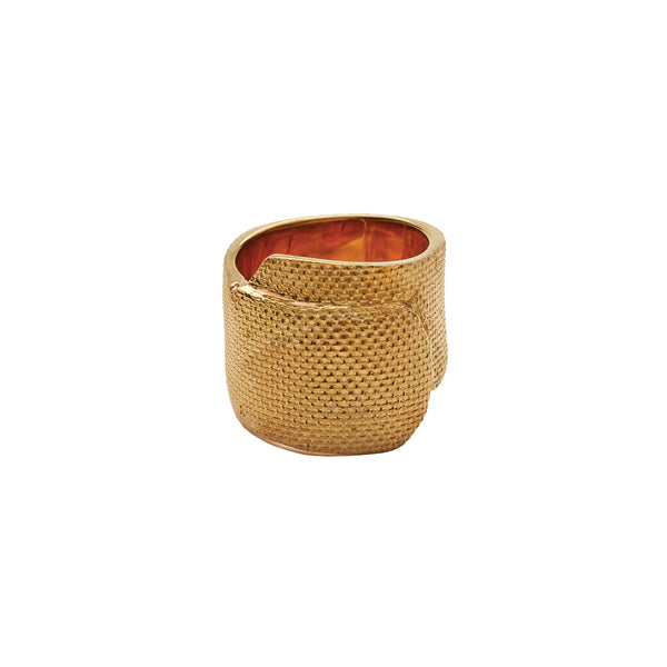 Ambush Design Jewellery Tape Ring Gold