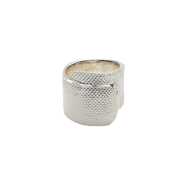 Ambush Design Jewellery Tape Ring Silver