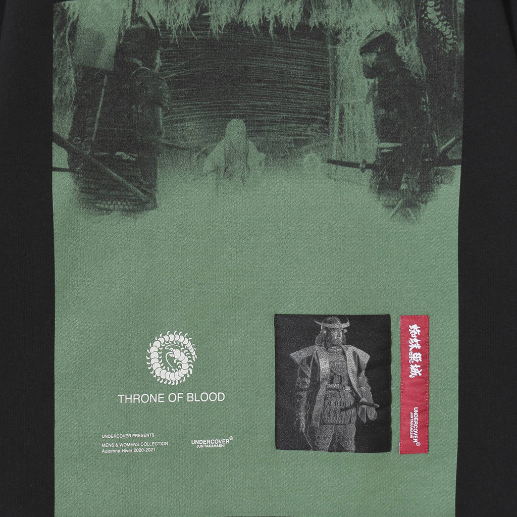 UNDERCOVER Jun Takahashi Throne of Blood Graphic Crewneck UCZ4892-6