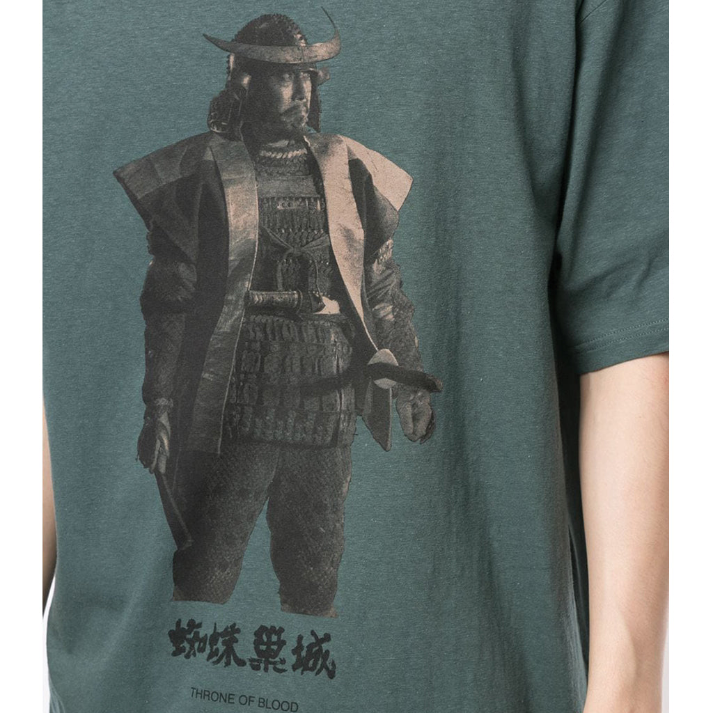 UNDERCOVER Jun Takahashi Throne of Blood Warrior T-Shirt Khaki Grey UCZ3809