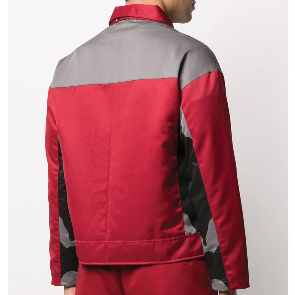 Youths in Balaclava Track Jacket Red