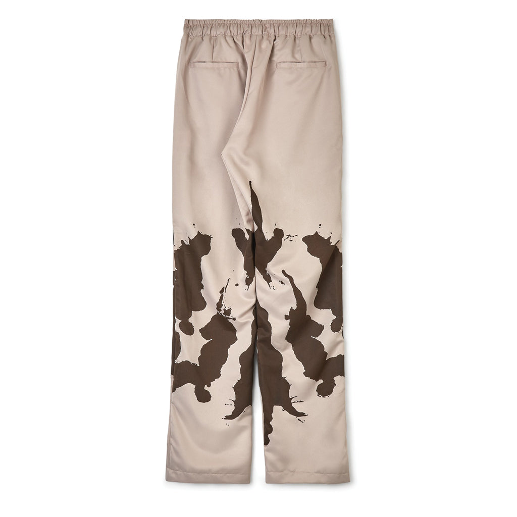 Youths in Balaclava Ink Blot Track Pants Brown