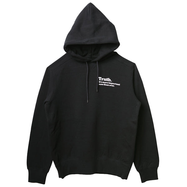 sacai x The New York Times Truth Hoodie Black
