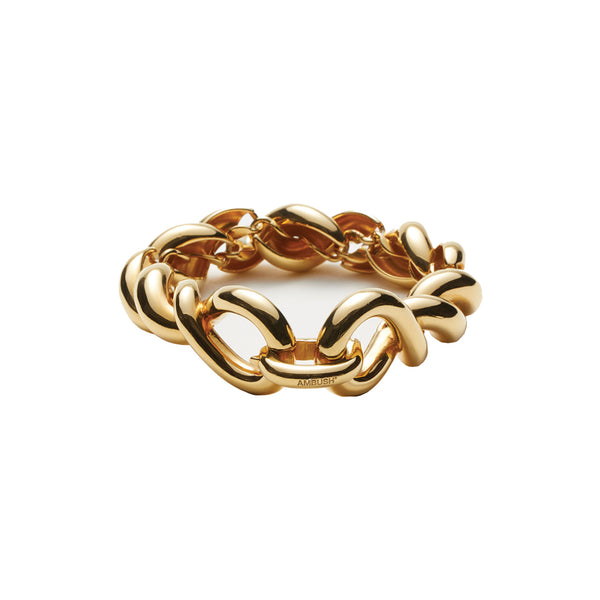 Ambush Jewellery Waves Chain Bracelet Gold