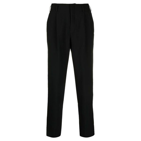 COMME des GARCONS Homme Plus Wool Pleated Pants Black PG-P043-S21