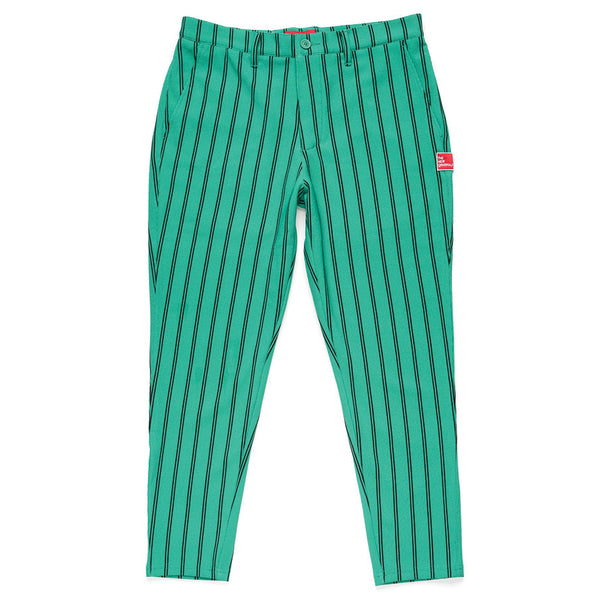 The New Originals Yogi Stripe Trouser Green / Black