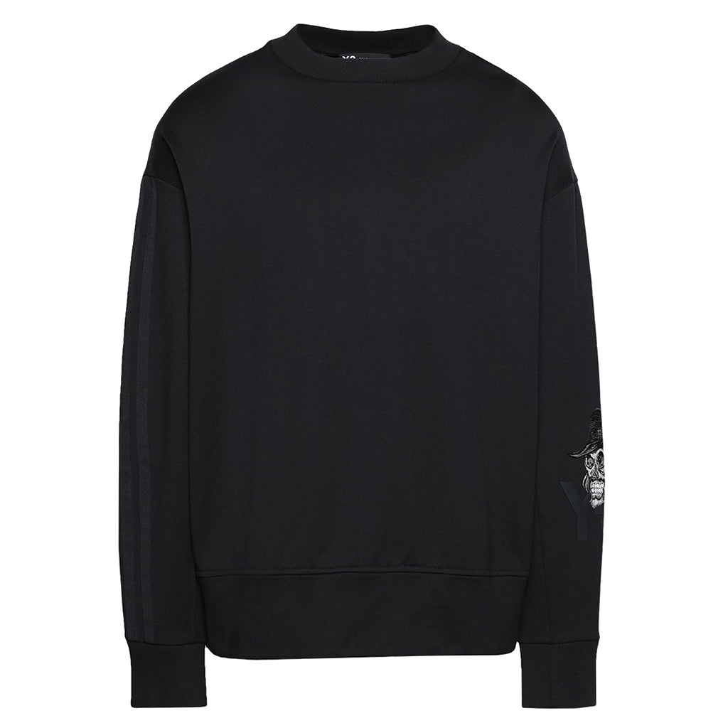 Yohji Skull Sweater Black