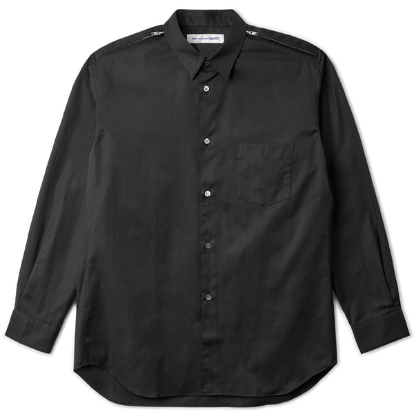 Zipper Shirt Black
