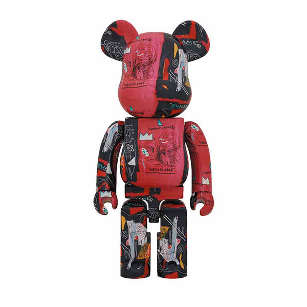 Medicom Toy BE@RBRICK Andy Warhol x Jean-Michel Basquiat 1000%