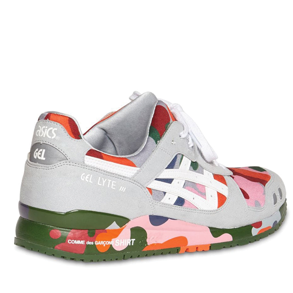COMME des GARCONS x Asics Gel-Lyte III Camo Sneakers