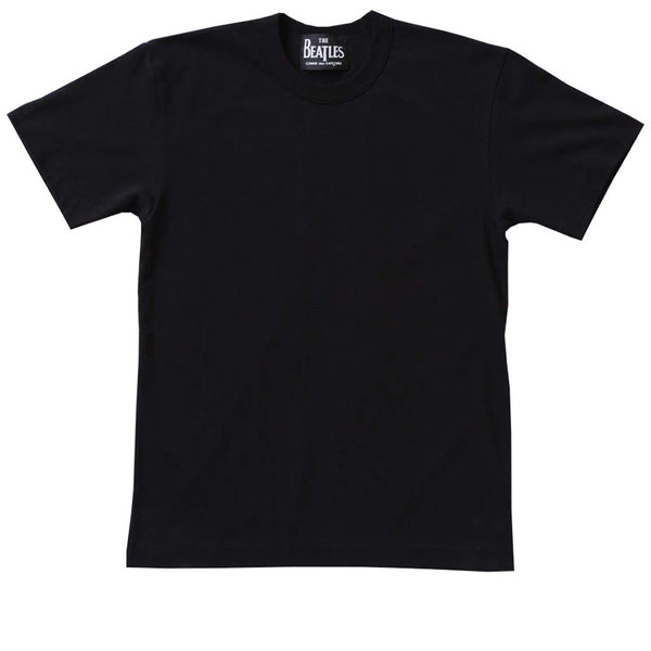 Back Printed T-Shirt Black