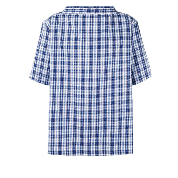 COMME des GARCONS SHIRT Yarn Dyed Cotton Jacquard Check Shirt