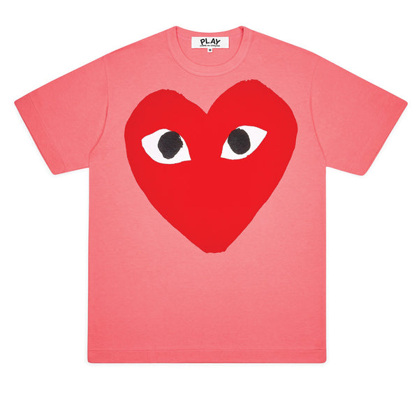 Bright Heart Logo T-Shirt Pink