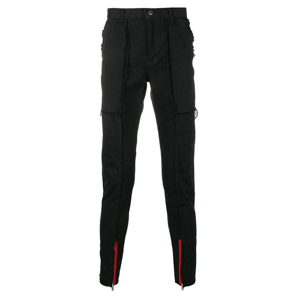 JohnUNDERCOVER Unfinished Hems Denim Pant