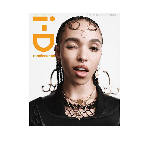 iD Magazine #357 The Post Truth Issue - FKA Twigs Cover
