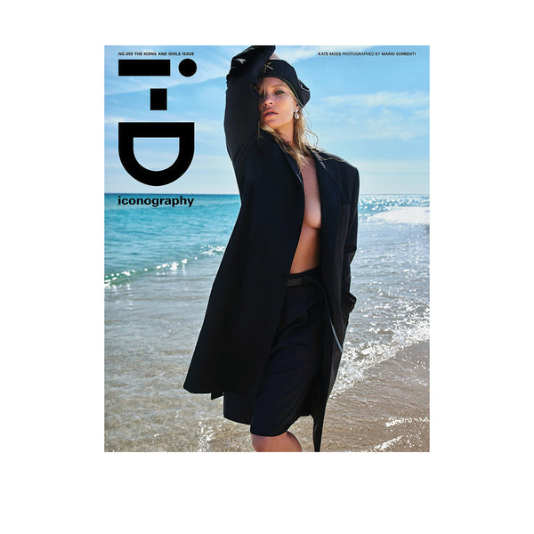 iD Magazine #359 Iconography Issue - Kate Moss Cover